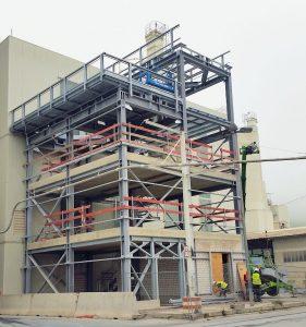 Neubau Kalkmilchanlage 5 ● SCHAEFER KALK GmbH & Co. KG - Hahnstätten 4/6