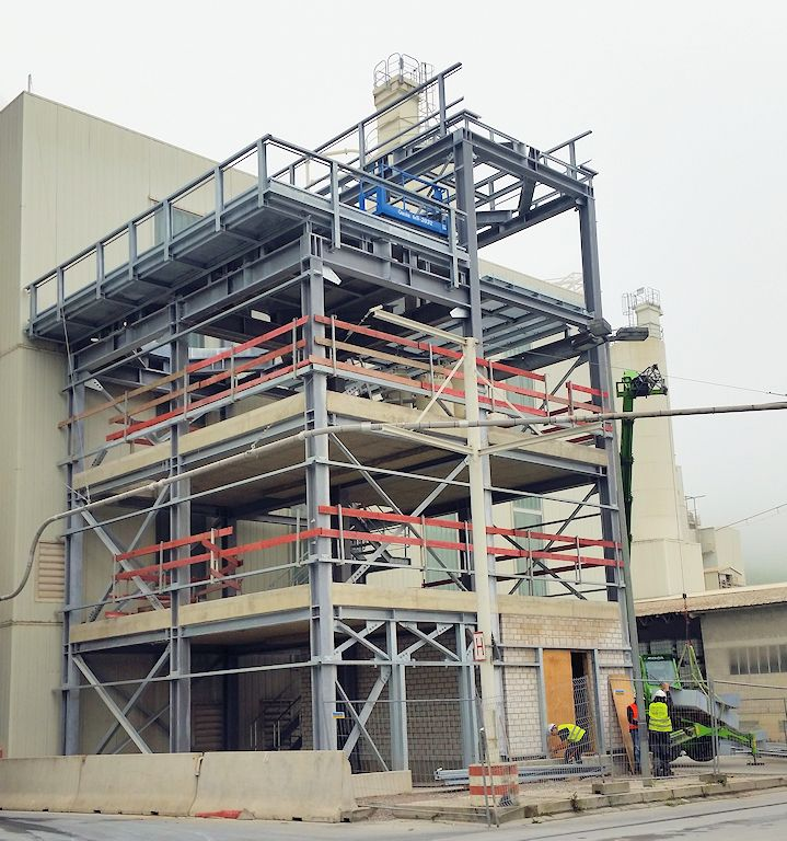 Neubau Kalkmilchanlage 5 ● SCHAEFER KALK GmbH & Co. KG - Hahnstätten 4/4