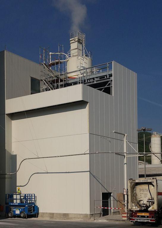 Neubau Kalkmilchanlage 5 ● SCHAEFER KALK GmbH & Co. KG - Hahnstätten 5/6