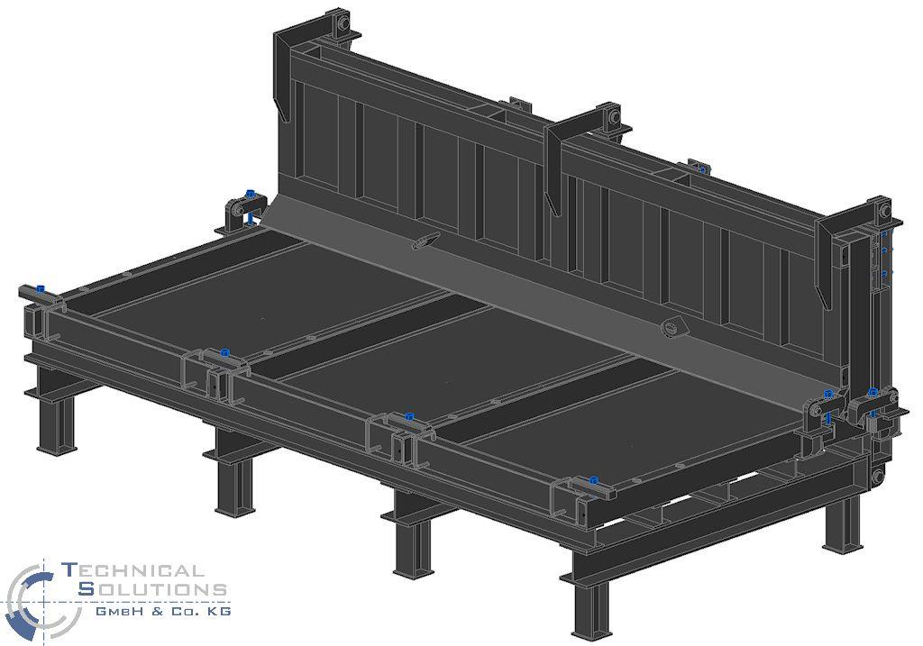 Neukonstruktion Winkelsteinformen ● EHL AG, Kruft