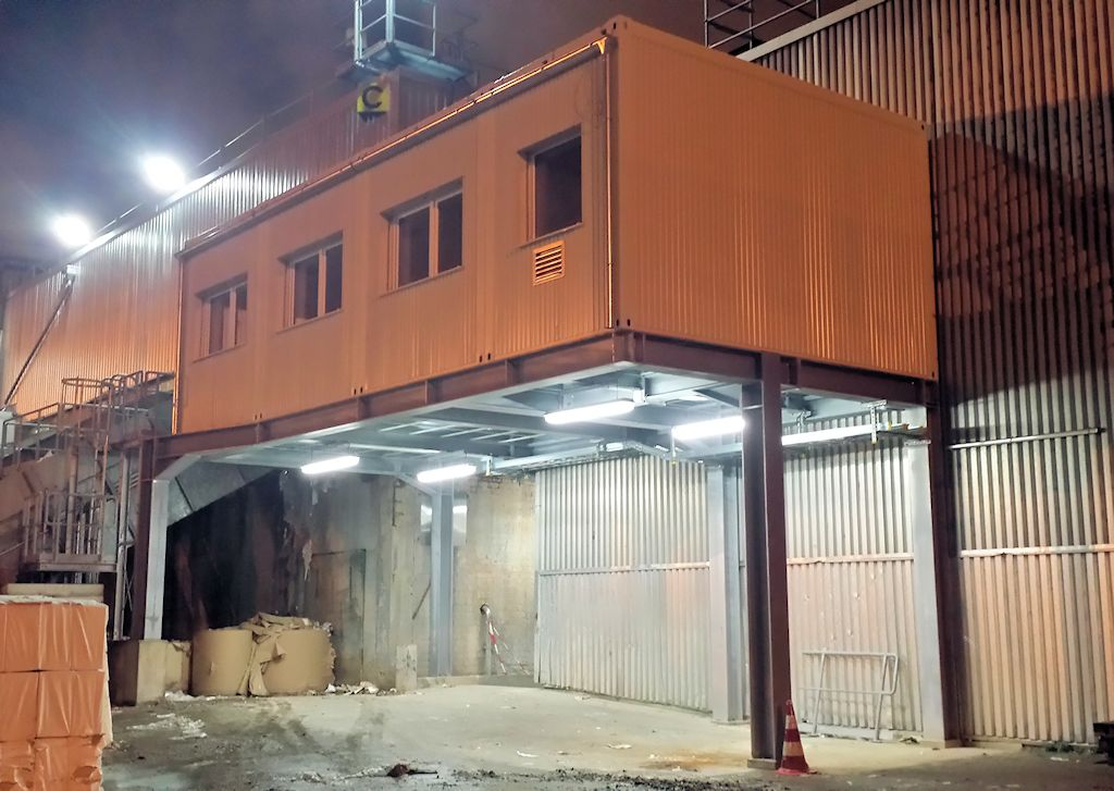 Stahlunterkonstruktion Neubau Warte Aufbereitung KM6 ● Tecnokarton GmbH & Co. KG - Mayen 4/4