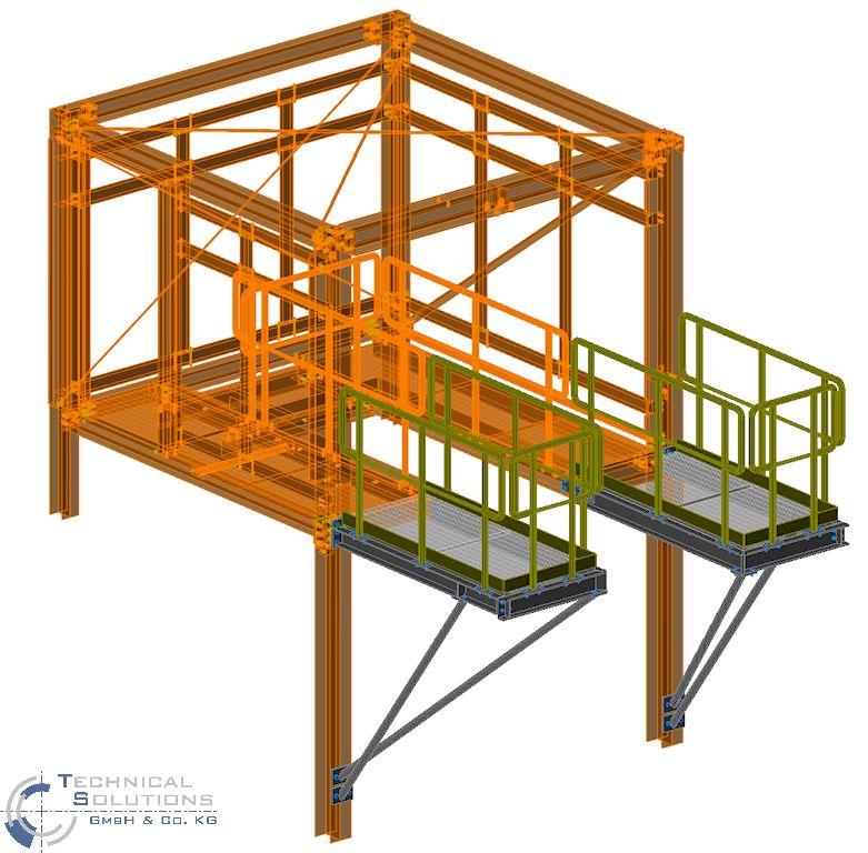 Erweiterung Laufsteganlage ● Tecnokarton GmbH & Co. KG - Mayen