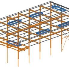 Erneuerung Dachkonstruktion ● Tecnokarton GmbH & Co. KG – Mayen