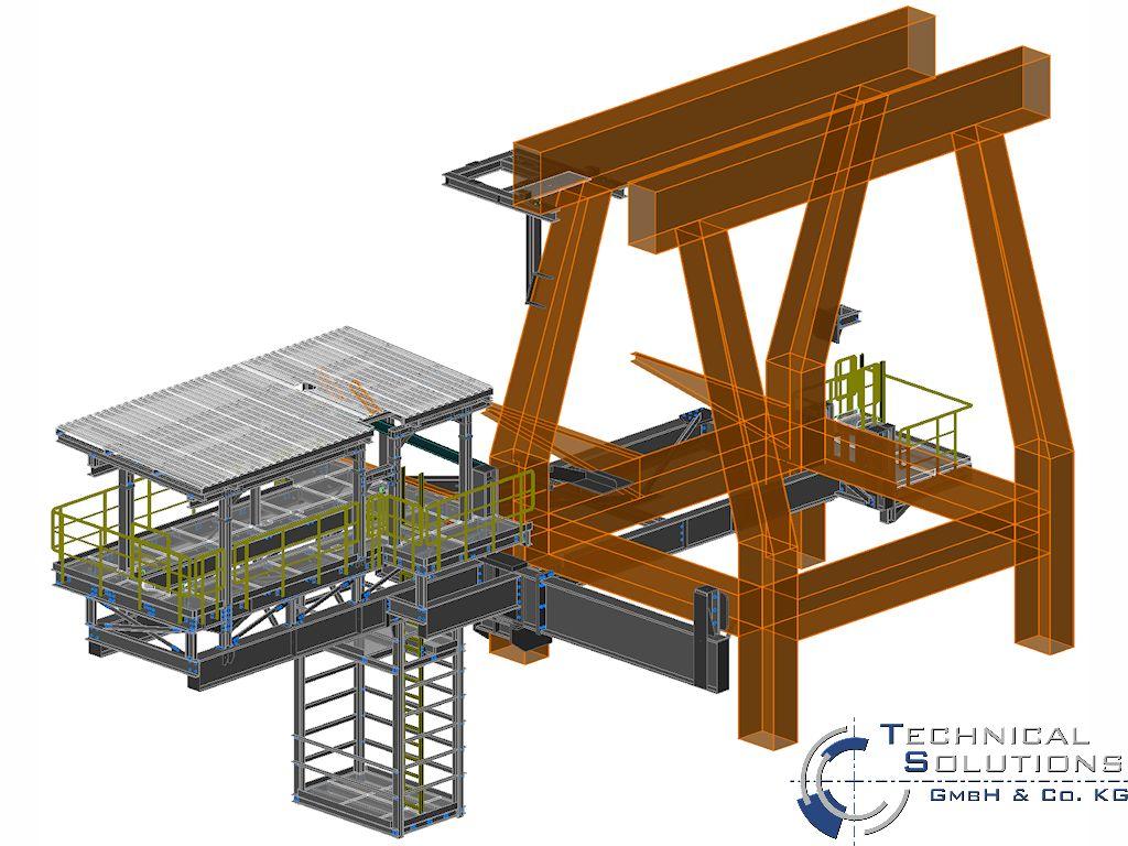 Ertüchtigung Verladekran ● Dyckerhoff GmbH - Neuwied 1/5