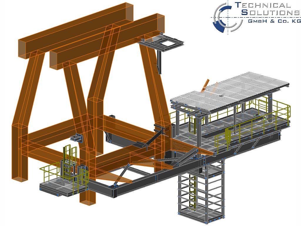 Ertüchtigung Verladekran ● Dyckerhoff GmbH - Neuwied 2/5