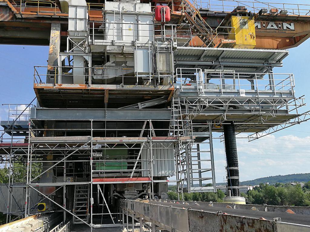 Ertüchtigung Verladekran ● Dyckerhoff GmbH - Neuwied 3/5