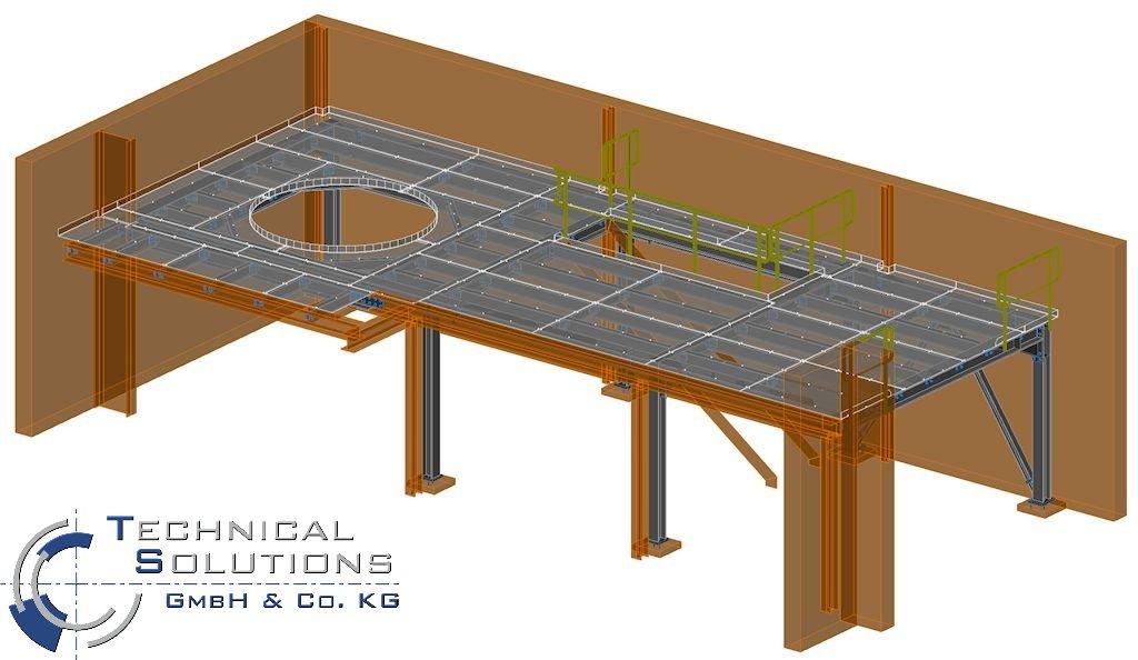 Stahlbühnenkonstruktion ● Troy Rheinland GmbH - Horhausen