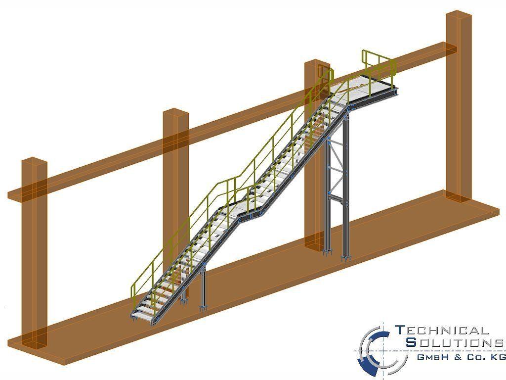 Außen- und Innentreppenanlage ● Kautex Maschinenbau GmbH - Bonn 2/2