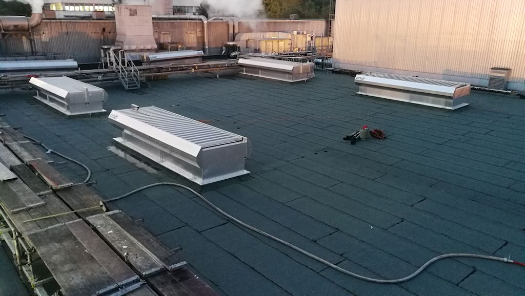 Erneuerung Dachkonstruktion, Erhöhung Treppenhaus und Unterkonstruktion Lüftungsgerät Aufbereitung KM6 ● Tecnokarton GmbH & Co. KG - Mayen 5/5