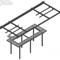 Bühnen- und Kranschienenkonstruktion ● Mainova AG – Frankfurt