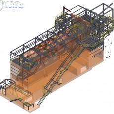 Stahlbaukonstruktion Fluffhalle ● Dyckerhoff AG – Werk Göllheim