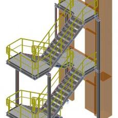 Laufsteg- und Treppenturmanlage ● Moritz J. Weig GmbH & Co. KG – Mayen