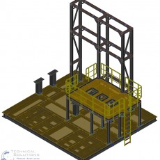 Stahlbaukonstruktion Brennerwagen ● Dyckerhoff GmbH – Werk Göllheim