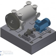 Anlagenkonstruktion Vakuumpumpe ● Tecnokarton GmbH & Co. KG – Mayen