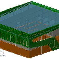 Visualisierung des Neubaus eines Produktionsgebäudes ● EnviroFALK GmbH – Westerburg