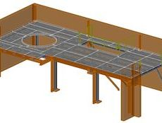 Stahlbühnenkonstruktion ● Troy Rheinland GmbH – Horhausen